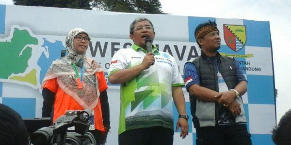 Maraton Bertema Lingkungan Tingkat Dunia Digelar di Pangalengan