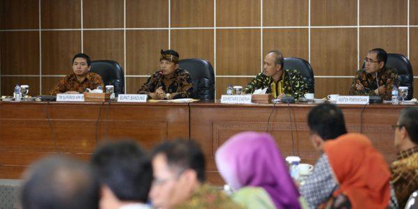 Progres Renaksi Pemberantasan Korupsi Terintegrasi di Kabupaten Bandung Dinilai Baik