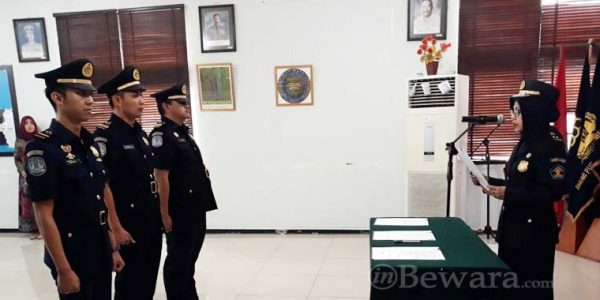 Serah Terima Jabatan di lingkungan Imigrasi Bandung