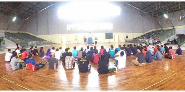 Pembekalan Materi di Penataran Pelatih Tingkat Muda (Lisensi C) dan Penyegaran Kota Bandung 2018