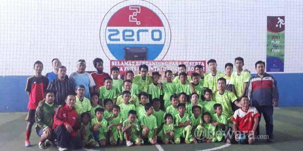 Turnamen Liga Futsal Santri di Lapang Zero Futsal Telah Dimulai