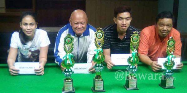 Atlet Asal Bandung Juara Pertama '10 Red Snoker Tournamen'