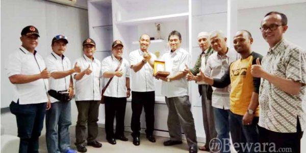 Kunjungan Koni Batam ke Kantor Koni Kota Bandung
