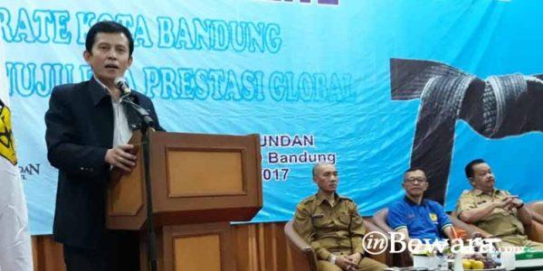 """65 Karateka Mengikuti Workshop """"Karate Kota Bandung Menuju Era Prestasi Global"""""""