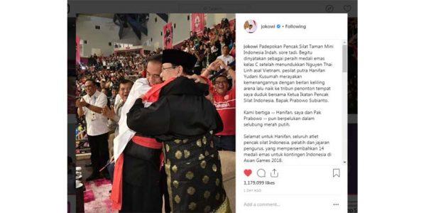 Atlet Pencak Silat Asal Bandung Meraih Medali Emas di Asean Games 2018