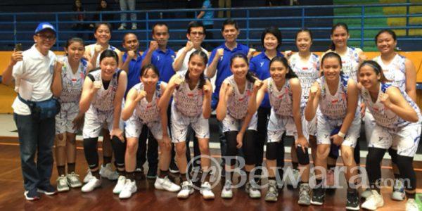 Tim Basket Putri Siap Bungkam Kab. Bandung Barat di Semi Final