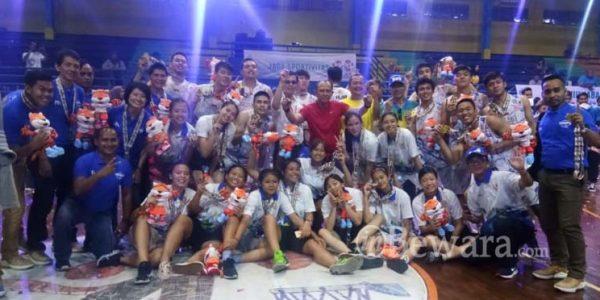 Tim Putra Basket Kota Bandung Juara di Final PORDA XIII Jabar