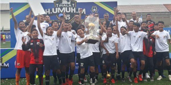 Umuh Muchtar Apresiasi Askot PSSI Kota Bandung Dalam Pelaksanaan Piala Haji Umuh U-15